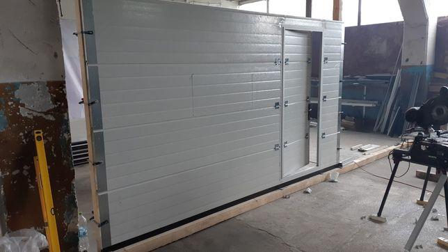 Usa de garaj 3800x2250 cu acces pietonal