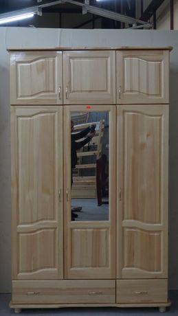 3 крил чамов гардероб с огледало Мебели РУМ Кремиковци