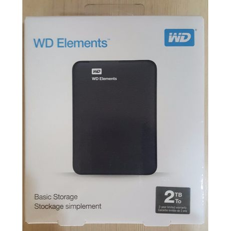 Hard Disk Extern HDD WD Elements 2TB nou Sigilat