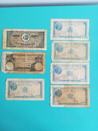 Vând bancnote vechi cele din imagine-de colectie