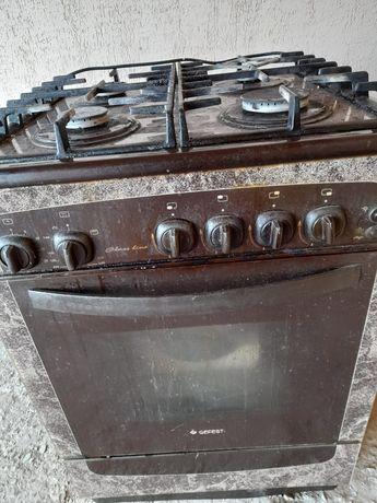 Продам газ плиту б/у  в хорошем состоянии