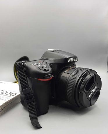 Nikon d7200 ,obiectiv nikkor 50mm