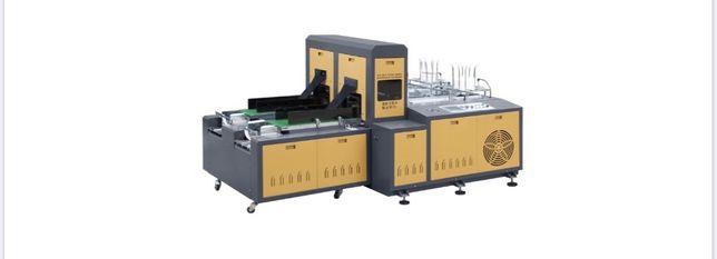 JBZ-500 utilaj, masina tavite carton, 100-120 ambutisari pe minut.