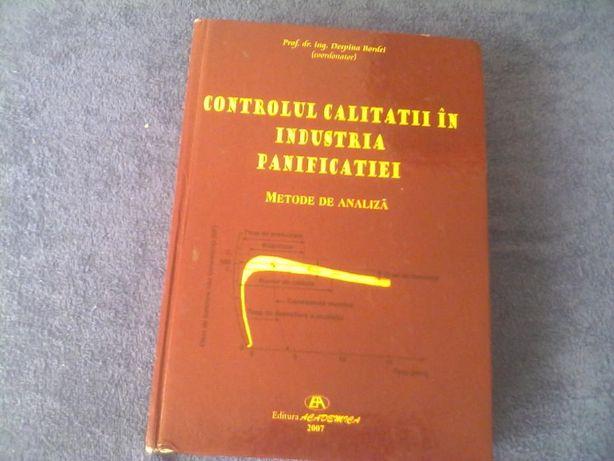 carte ,,Controlul calitatii in indrustria panificatiei''