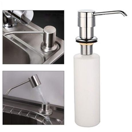 Dozator detergent lichid incorporabil pentru chiuveta bucatarie