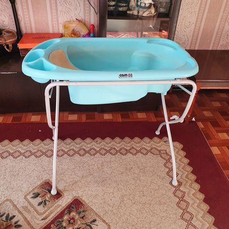 Ванночка с подставкой.  Ванна для купание малыша