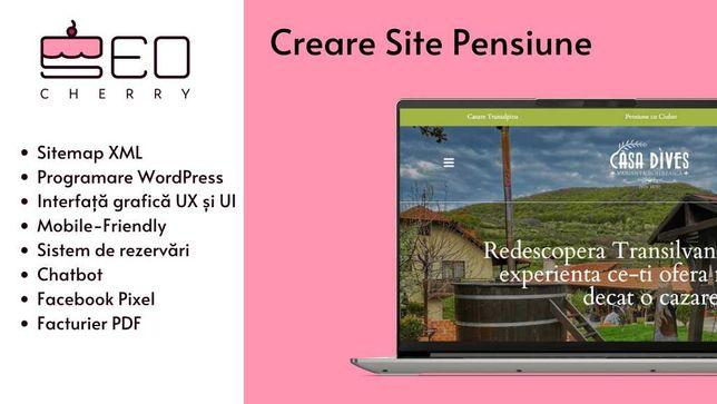 Creare Site Pensiune - Optimizare SEO Cluj Napoca | SEO Cherry