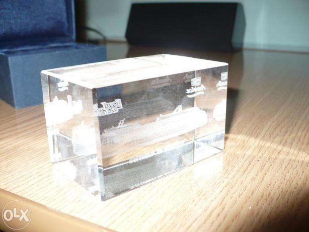 Bibelou- Nava 3D in sticla