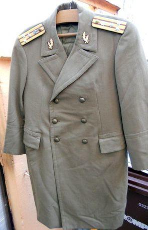Manta Iarna de Ofiter superior Colonel RSR Arma Tehnic (T) cu epoleti