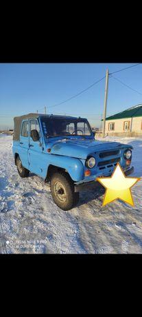 УАЗ 469 Уаз 469 Көк 1998, механик, бензин,  Кедендік бақылаудан өткен.