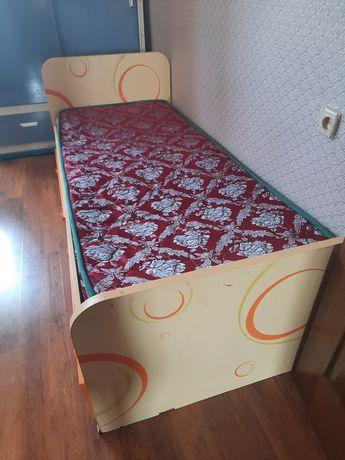 Дет.кровать со шкафом