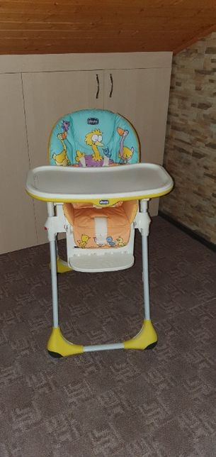 Scaun de masa Chicco Polly Easy Birdland
