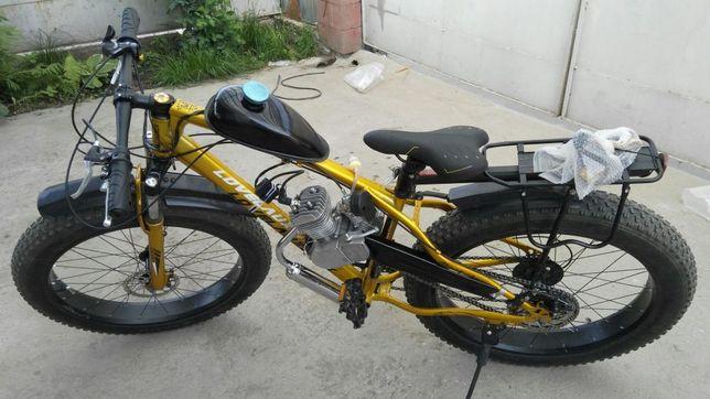 Веломотор BT. Мотовелосипед. Велосипед с мотором. Веломопед.