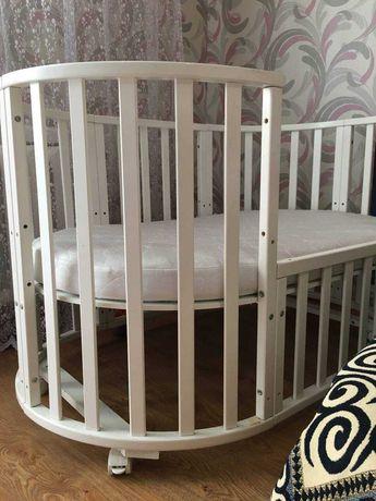 Детская кроватка - трансформер 6-в-1