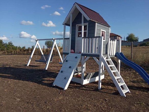 Изработваме детски кътове,люлки ,къщички и всичко останало от дърво