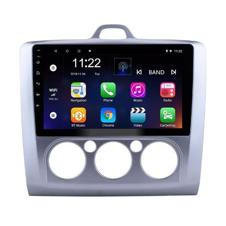Navigatie Android 9.1 Ford Focus 2004 - 2011 GPS Wi-Fi Waze 9inch
