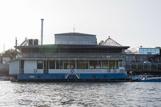 Vand ponton plutitor restaurant/hotel/spatii de birouri