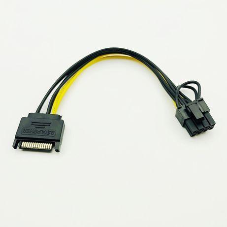 Cablu alimentare placa video 6+2 pini