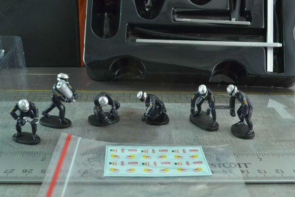 Ixo Models - Crew Garage Mechanics 1/43 Rally Diorama