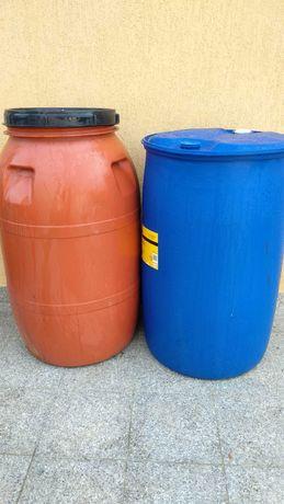 Butoi butoaie bidoane 220 sau 250 litri plastic
