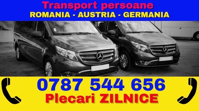 Transport ZILNIC de persoane Romania Austria Germania Belgia Olanda