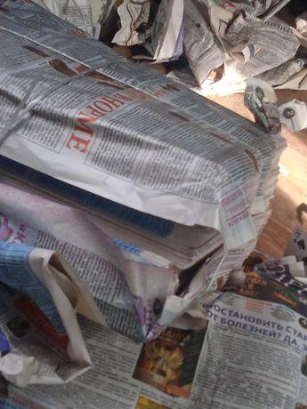 Прием газет, не макулатуру, в районе алматы
