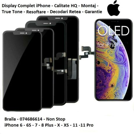Display/LCD/Baterii iPhone 6,6plus,6S,7,7plus,8,8plus,X,XS,11PROMAX