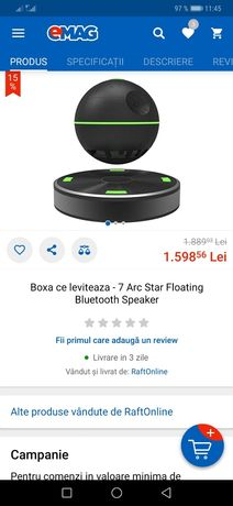 BOXA de leviteaza- ARC STAR sigilata