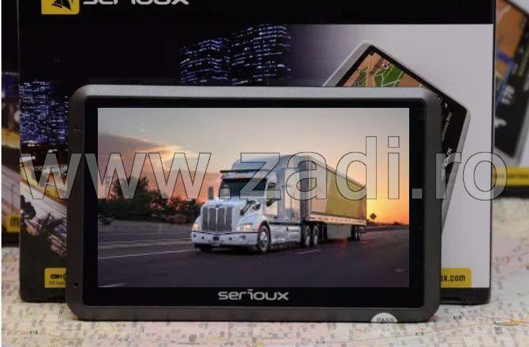 Gps Serioux upq430 NOU 4.3 inch Full Europa Autoturism Camion Tir Taxi Bistrita - imagine 1