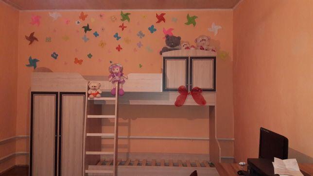 Детская двухярустная кровать