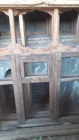 Деревянные окна!!!в хорошем состоянии по низкой цене!Штук 7!Г.Кентау