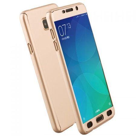 Capac protectie Full cover 360° Samsung Galaxy A3 (2017) / A320, auriu