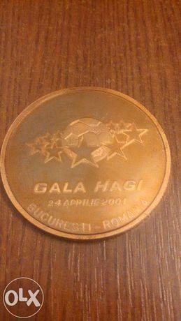 Moneda Gala Hagi Omagiala 24 aprilie 2001