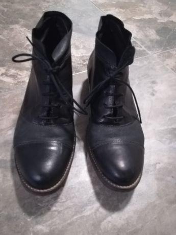 Естествена кожа - дамски обувки
