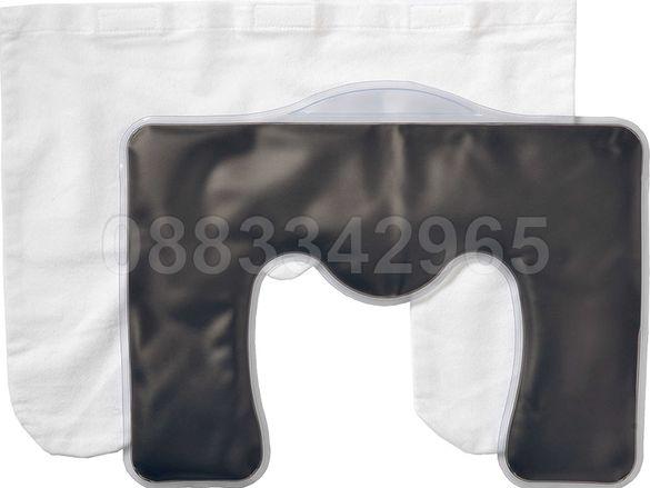 НОВИ! Лечебна възглавница с натурална кал за врат рамене затопляща/ ох