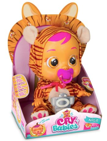 Ims toys Плачеща кукла Nala Cry babies crybabies baby Нала Тигър