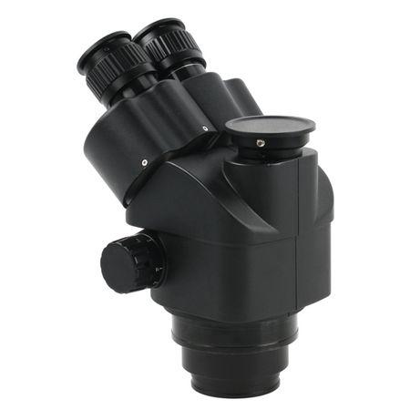 Microscop Bijutier.Black 3.5X 90X 7X-45X Simul-Focal Trinocular Micro