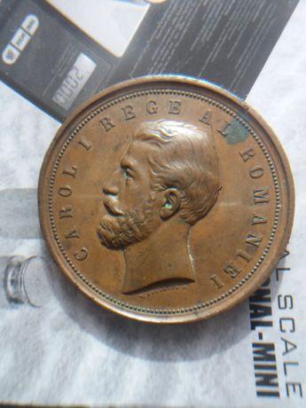 Se vinde: medalie CarolI