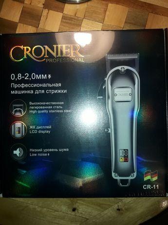 Машинка для стрижки профессиональная Кроньер CR-11, оригинал
