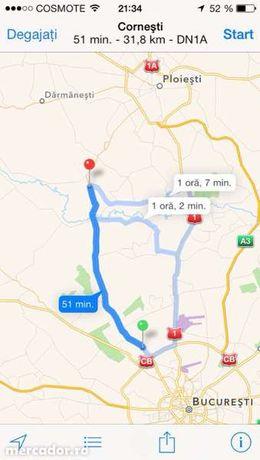 Teren Cornesti -Dambovita intravilan stradal, 2424mp