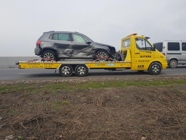Tractari transport platforma auto dube camioane utilaje