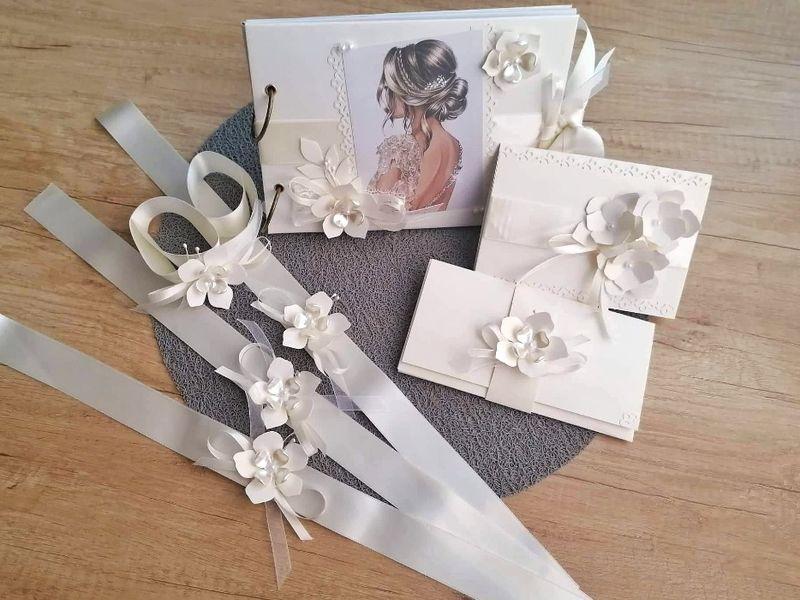 Албум, покани и шаферски гривни за сватба или моминско парти гр. Враца - image 1
