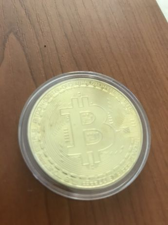 Moneda fizica Bitcoin