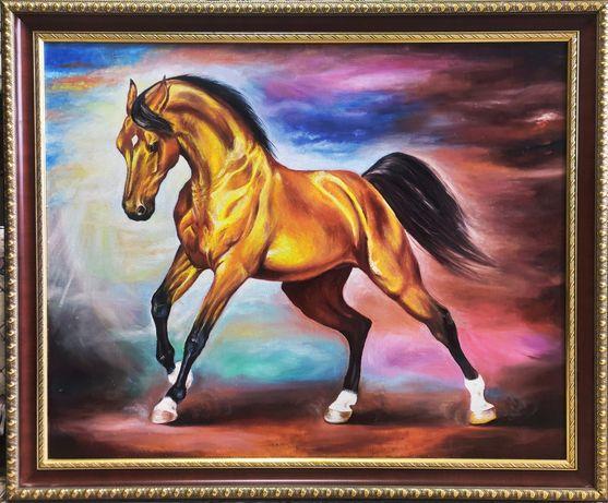 """""""Лошадь"""" Картина маслом на холсте"""