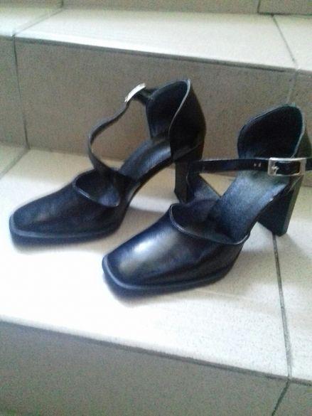 Дамски официални обувки, италиански, естествена кожа