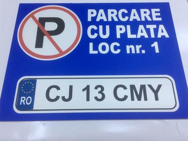 Placi loc parcare