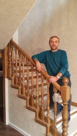 Изготовление и монтаж лестниц . Стаж более25лет.Бани. сауны.