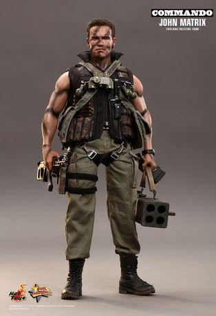 Figurina Articulata Hot Toys 1/6 Commando John Matrix MMS276