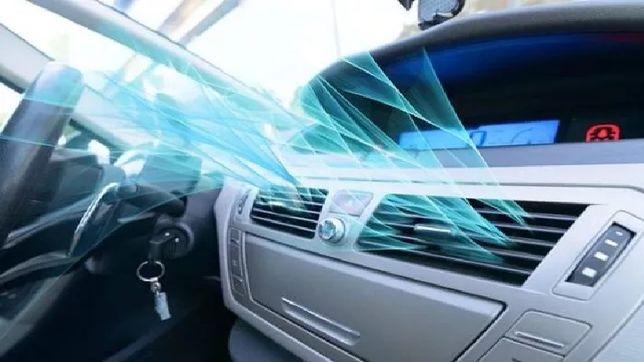 Eliminare miros neplacut tratament ozon clima auto Ozonificare