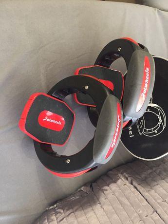 Skateboard orbit wheel